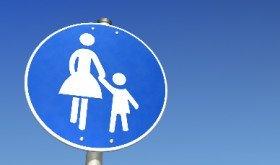 De stand van zaken van de alleenstaande-ouderkop